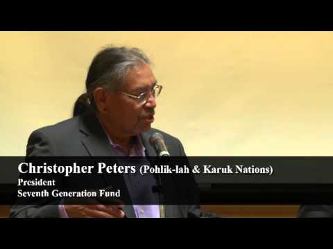 Chris Peters (Pohlik-lah/Karuk) Respecting the Rights of Mother Earth