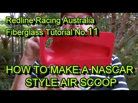 How to Make A Fibreglass Car Air Scoop