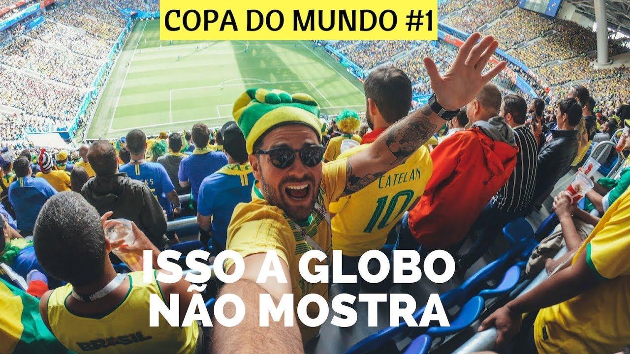 Brasil x Costa Rica - A Festa da Torcida Brasileira diretamente da Rússia  efd55d44ffe4f