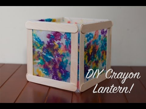 Dollar Store DIY Ep. 25 - How-To Make a Wax Paper Lantern