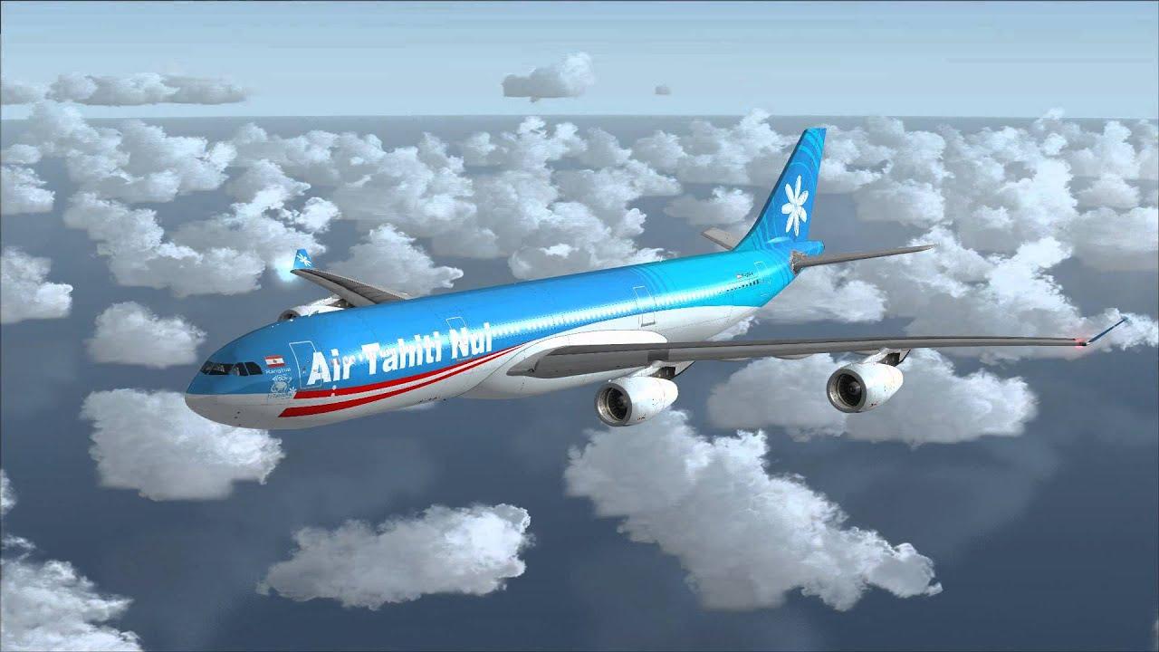 NUI TÉLÉCHARGER A340 300 AIR TAHITI