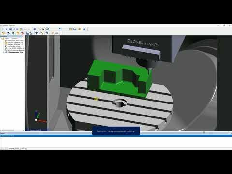 Edgecam | Konwersja ścieżek 3-osiowych do płynnych 5 osi