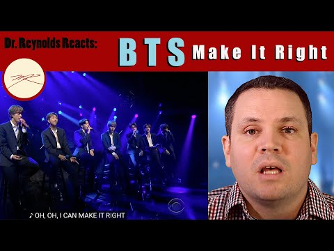 Voice Teacher & Stage Director Reacts To And Analyzes BTS Make It Right