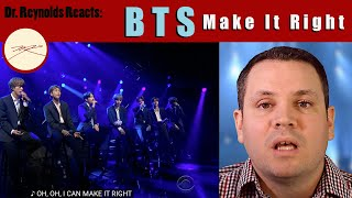 Voice TeacherStage Director reacts to and analyzes BTS Make it Right