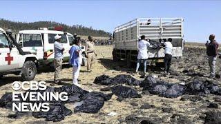 Officials investigating cause of Ethiopian Airlines crash
