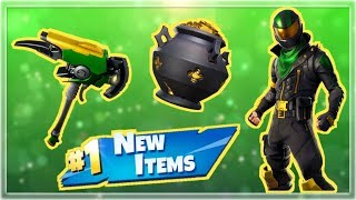 NOUVEAU St Patrick's Day Skins - Articles! - Fortnite Live Stream!