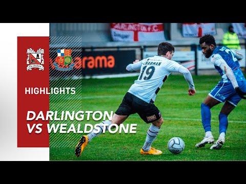 Darlington Wealdstone Goals And Highlights