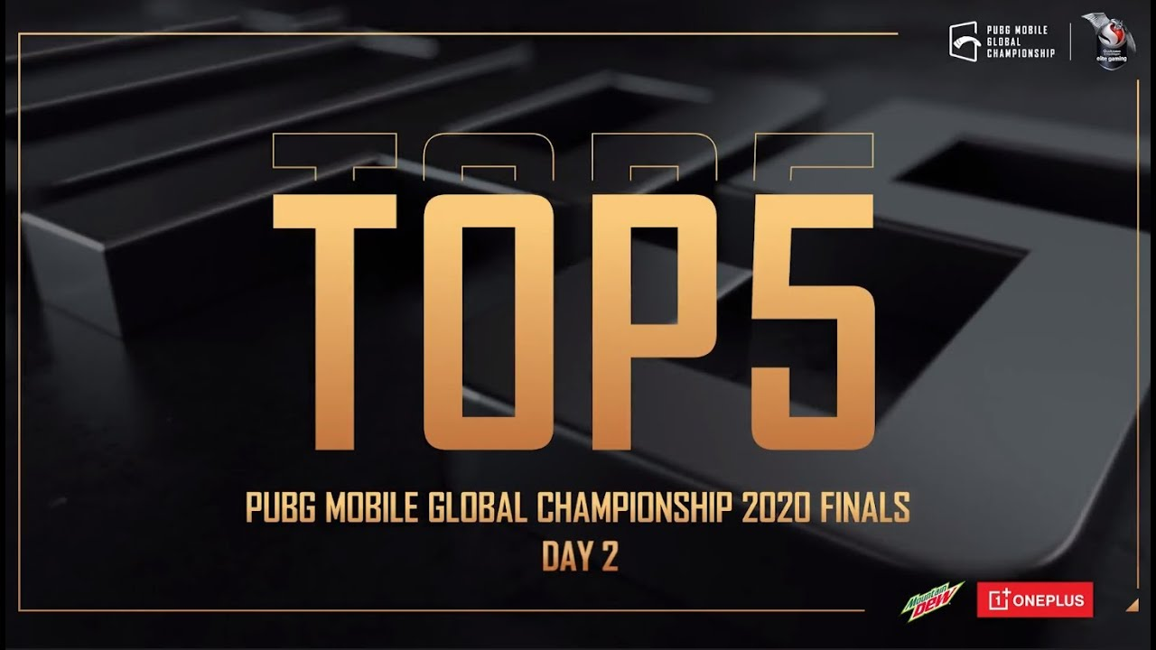 🎉 TOP 5 Best Player  PMGC 2020 - Day2