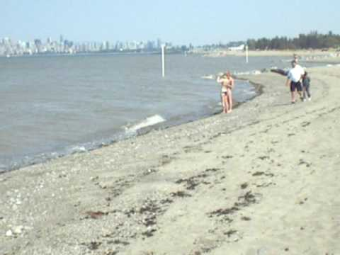 The Reganization of Canada #6 - Bikini Babes and Rigid Arms on Spanish Bank Beach - Vancouver, BC