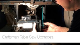 Shop Update: Craftsman Table Saw Upgrades