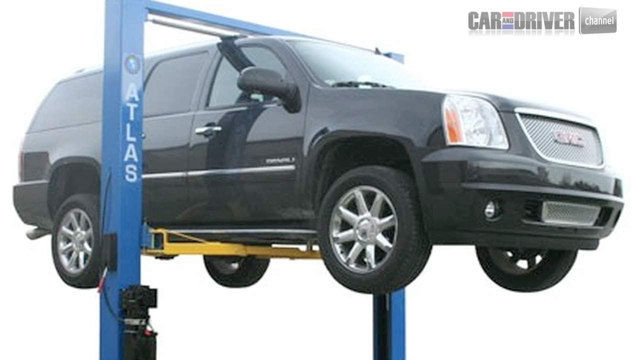 Domestic Garage Car Lift How To Install A Vehicle Lift Part 1