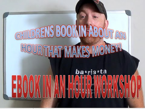 How to Make A Children's Book in about an Hour! | Creating Children's Books For Amazon Kindle