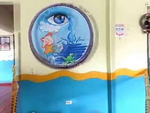 Ojo con el agua un mural ecol gico youtube for Editorial periodico mural