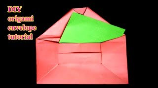 DIY   origami envelope tutorial