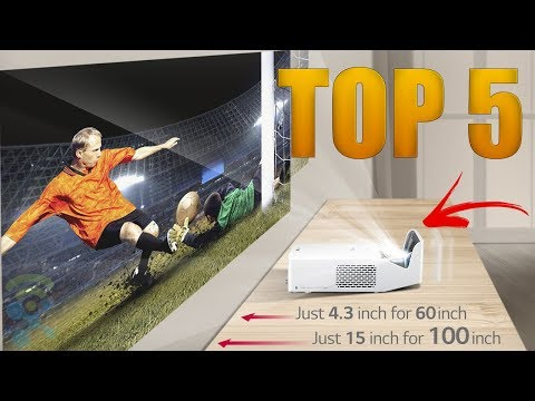 Top 5 Best Projectors 4K for 2018 - Best Home Theater Projectors