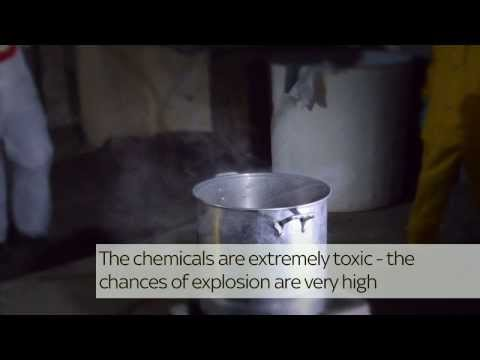 Inside Crystal Meth Lab | Narco State | Sky News