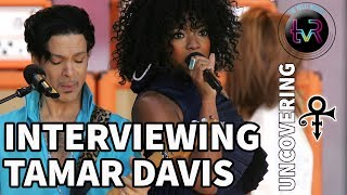 UNCOVERING PRINCE WITH TAMAR DAVIS** Purple Fam! We're back with a ...