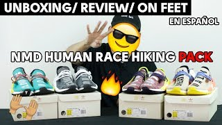 UNBOXING | PHARRELL NMD HUMAN RACE HIKING PACK | REVIEW EN ESPAÑOL