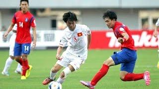 Tuấn Anh xử lý bóng điêu luyện tại VCK U19 Châu Á 2014