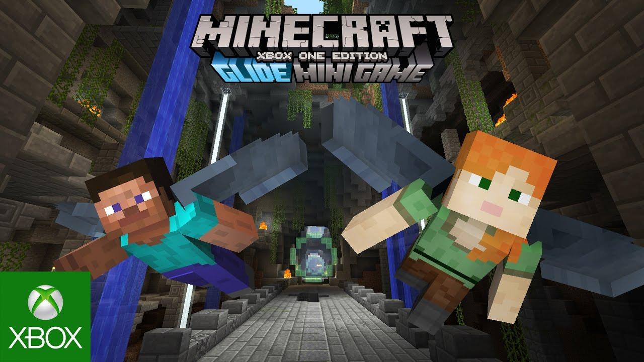 Minecraft Xbox One Edition Glide Mini Game