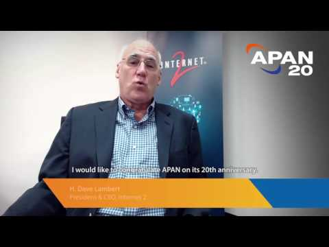 APAN Asia Pacific Advanced Network 20th Anniversary Video