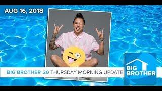BB20   Thursday Morning Live Feeds Update Aug 16 LIVE 10e/7p