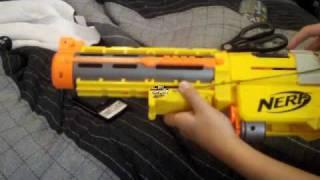 Nerf Shotgun Mod - Pump Action