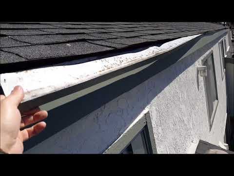 West Coast Roofer - How NOT to Install Roofing Edge  Metal