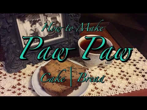 How to Make the Best Paw Paw Cake | Banana Bread Recipe