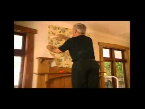 How To Hang Wallpaper - Tranh dan tuong HDC.flv