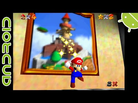 Super Mario 64 | NVIDIA SHIELD Android TV | Mupen64Plus FZ Emulator [1080p]  | Nintendo 64