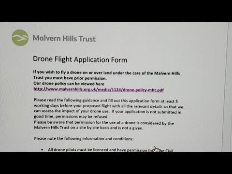 Drone Flight Application Form Really?