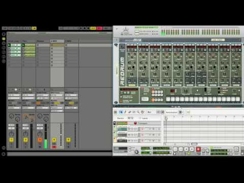 ableton live intro rewire to reason youtube. Black Bedroom Furniture Sets. Home Design Ideas