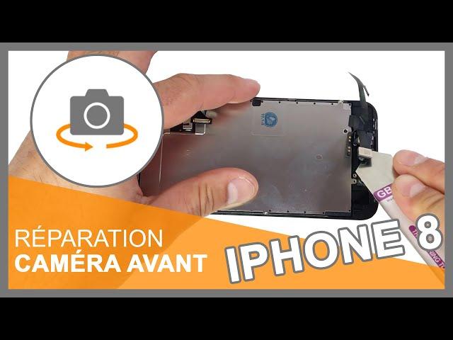 Réparation caméra avant iPhone 8