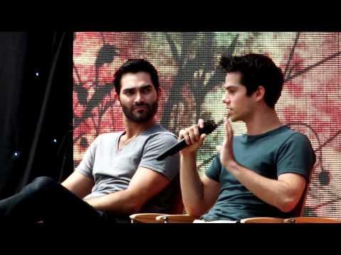 Dylan O'Brien @ AlphaCon, talking about his refusal to film the Stiles/Malia sex scene Mp3