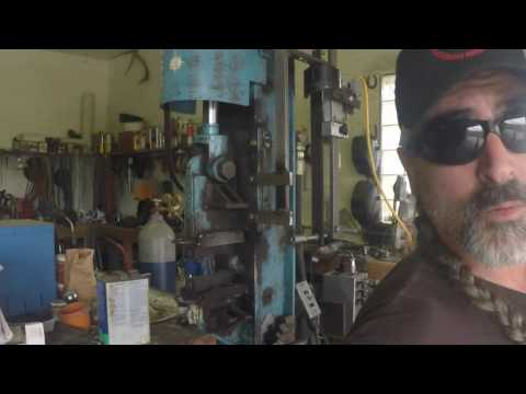 Damascus Billet Making