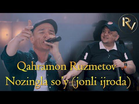 Qahramon Ruzmetov Nozingla so'y \
