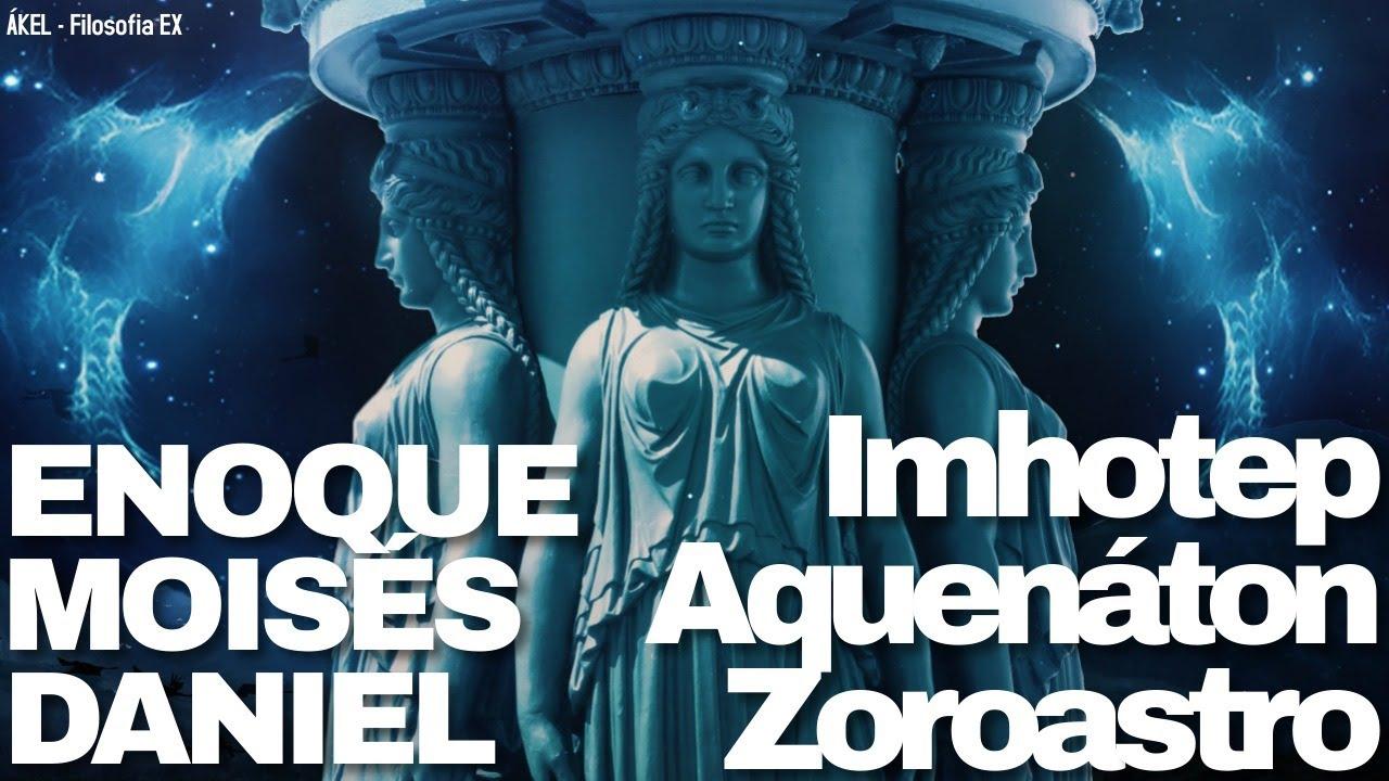📢 REVELAÇÕES: Aquenáton MOISÉS, Trismegisto e Imhotep ENOQUE, Zoroastro DANIEL!