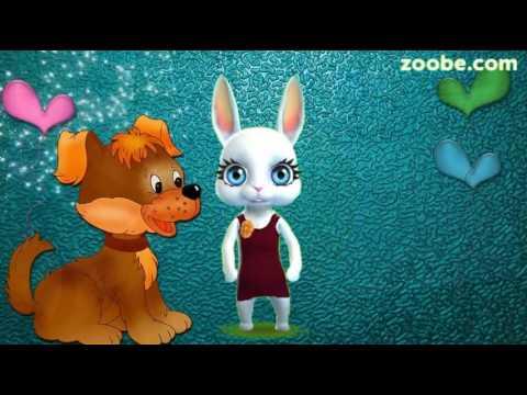 Zoobe Зайка С днем рожденья поздравляю! (полная версия) - Как поздравить с Днем Рождения