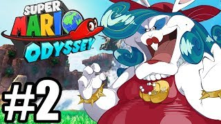 PREHISTORYCZNA DESTRUKCJA - Let's Play Super Mario Odyssey #2 [NINTENDO SWITCH]