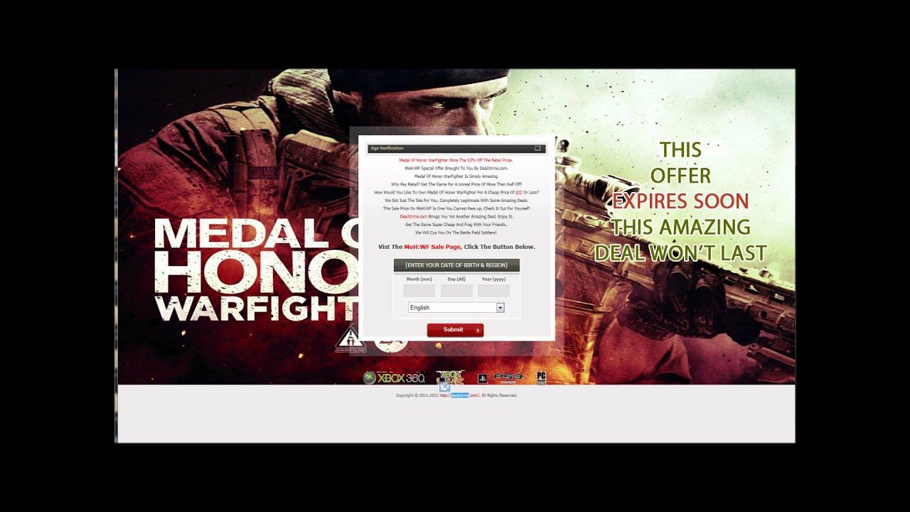 Como jugar medal of honor warfighter online dating