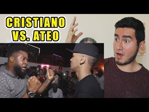CRISTIANO VS ATEO   BATALLA DE RAP (VIDEO REACCIÓN)   Zodiaco VS Phillipe