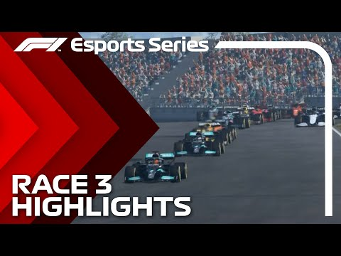 2021 F1 Esports Pro Championship: Race 3 Highlights