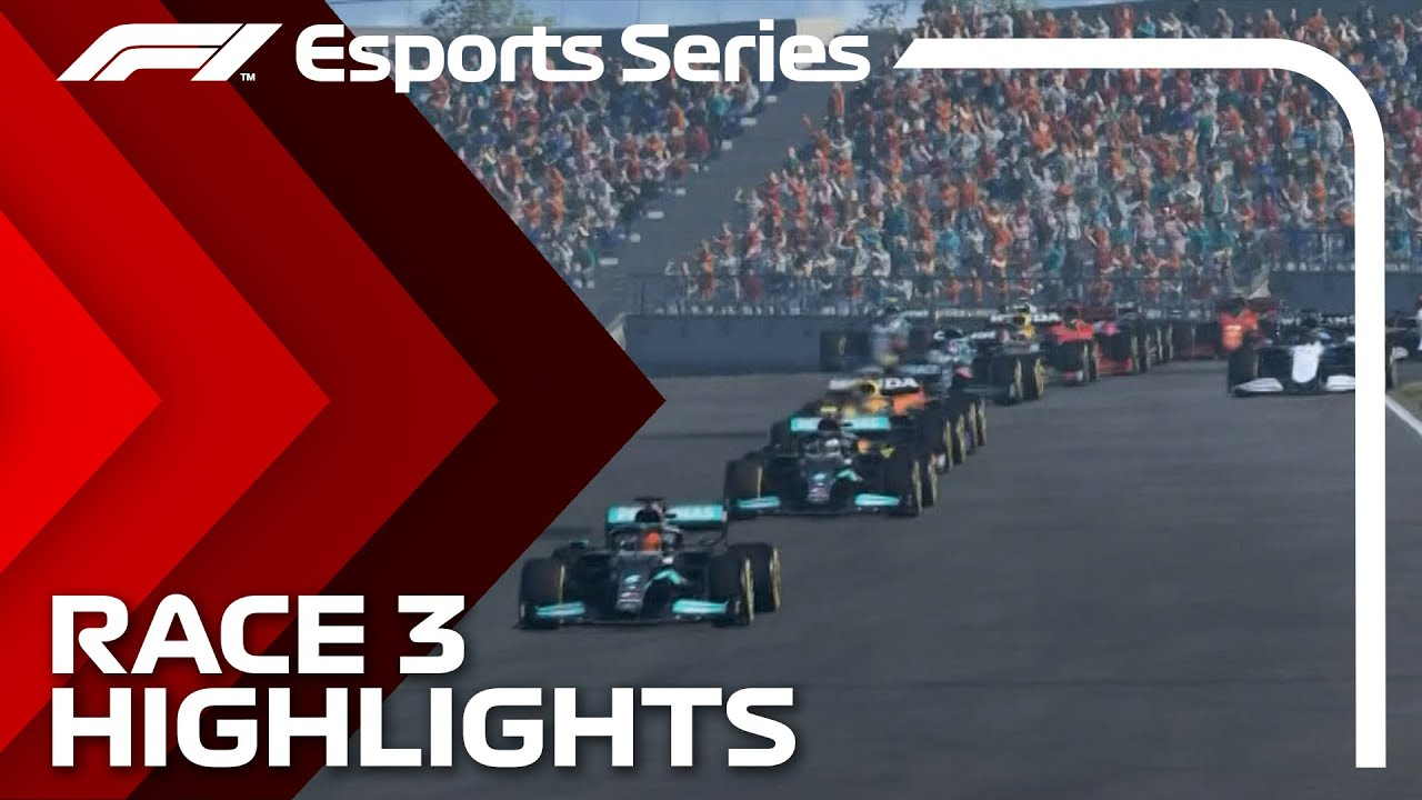 Download 2021 F1 Esports Pro Championship: Race 3 Highlights