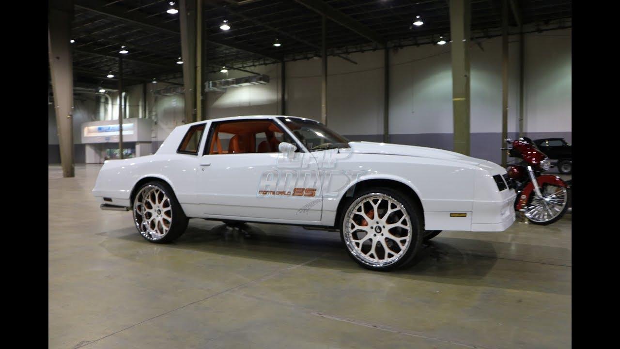 WhipAddict: 85' Chevrolet Monte Carlo SS on Forgiato Dreas 24s,  Supercharged LS3, Camaro Interior