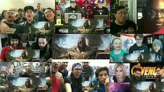 Marvel Studios' Avengers: Infinity War - Official Trailer Reactions Mashup