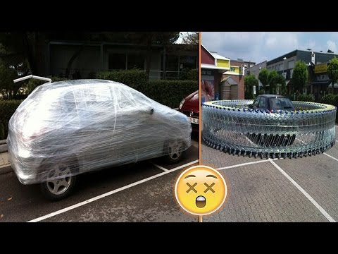 Funny Car Parking Images
