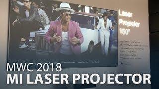 "MWC 2018 : Mi Laser Projector 150"""