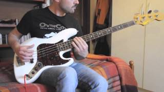 "luigi plays ""Santana - Incident at Neshabur"" L5 bassline"