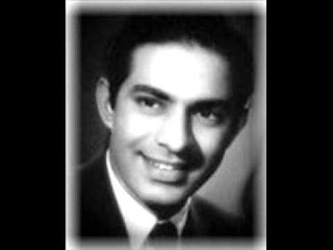 Pyar Ki Rut Do Rangi Sajan Talat Mahmood Madhubala Zaveri Film Apni Izzat (1952) Hansraj Behl.